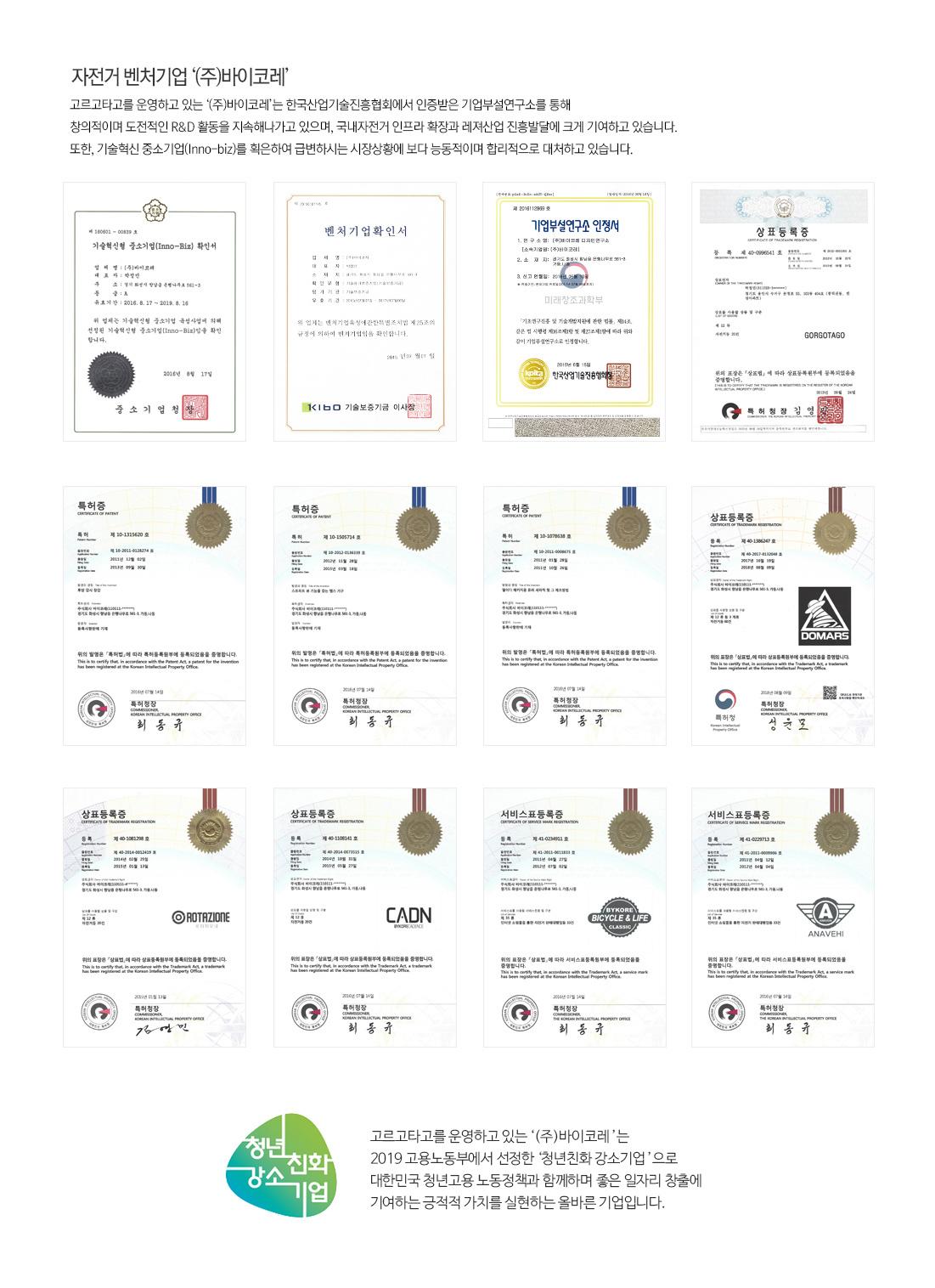 한국기술진흥협회 인증